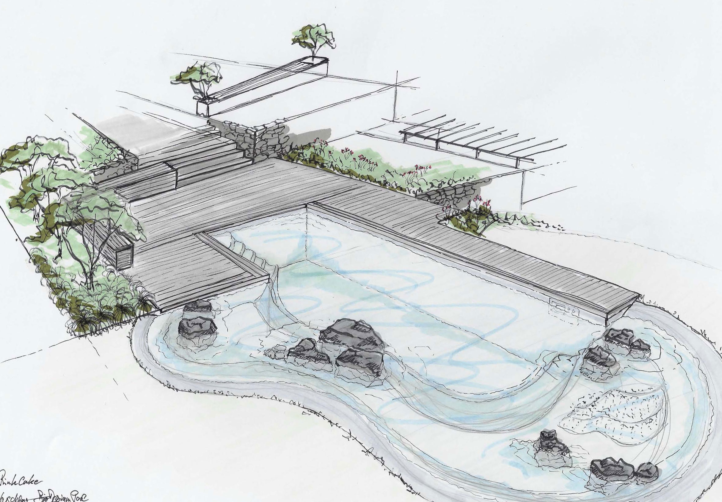 Rheingrün Biodesign Pool