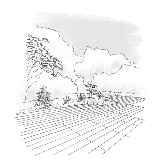 Holz im Garten – vielseitig, natürlich warm und garantiert nachhaltig