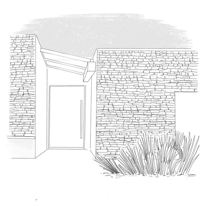 Natursteinfassaden