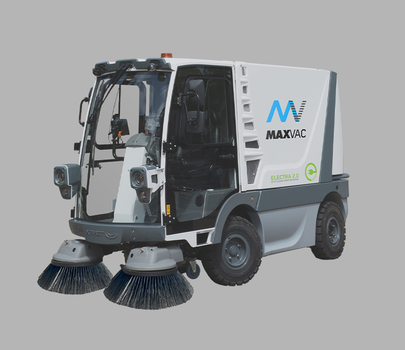 ELECTRA 2.0 ELECTRIC STREET SWEEPER