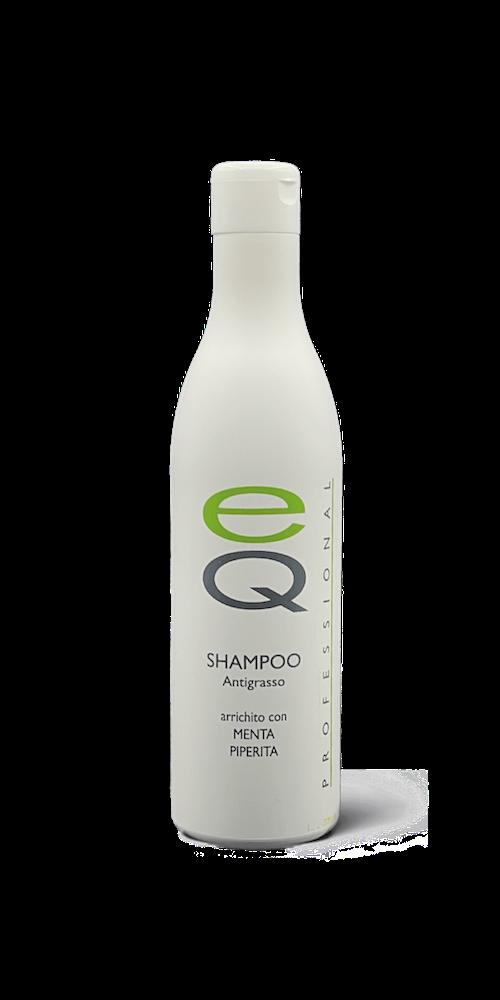 Shampoo rinfrescante e purificante