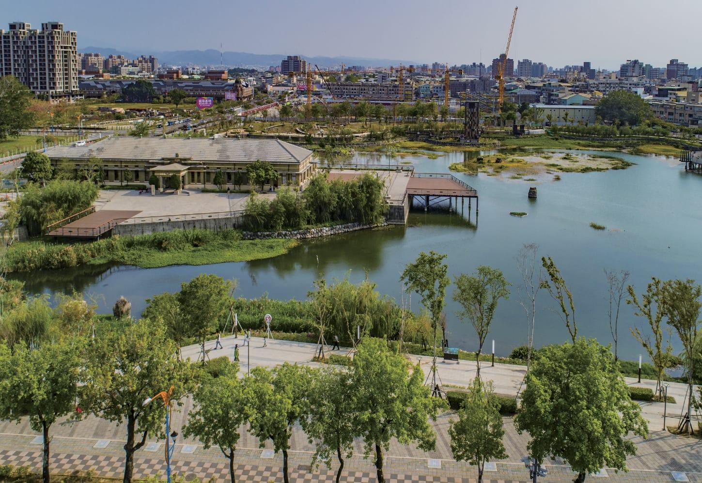 新業建設 | 尊享。璀璨之匯 - 台糖湖濱園區實景圖