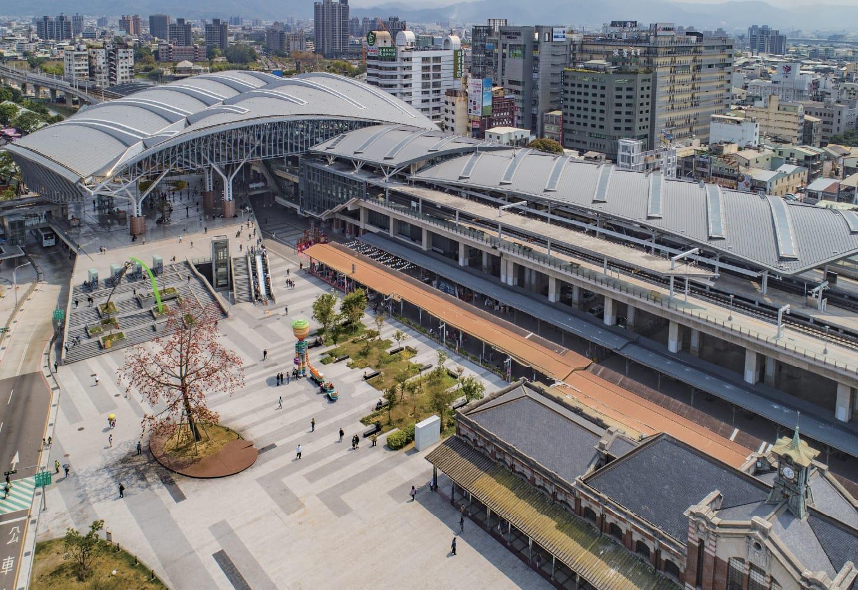 新業建設 | 尊享。璀璨之匯 - 台中車站實景圖