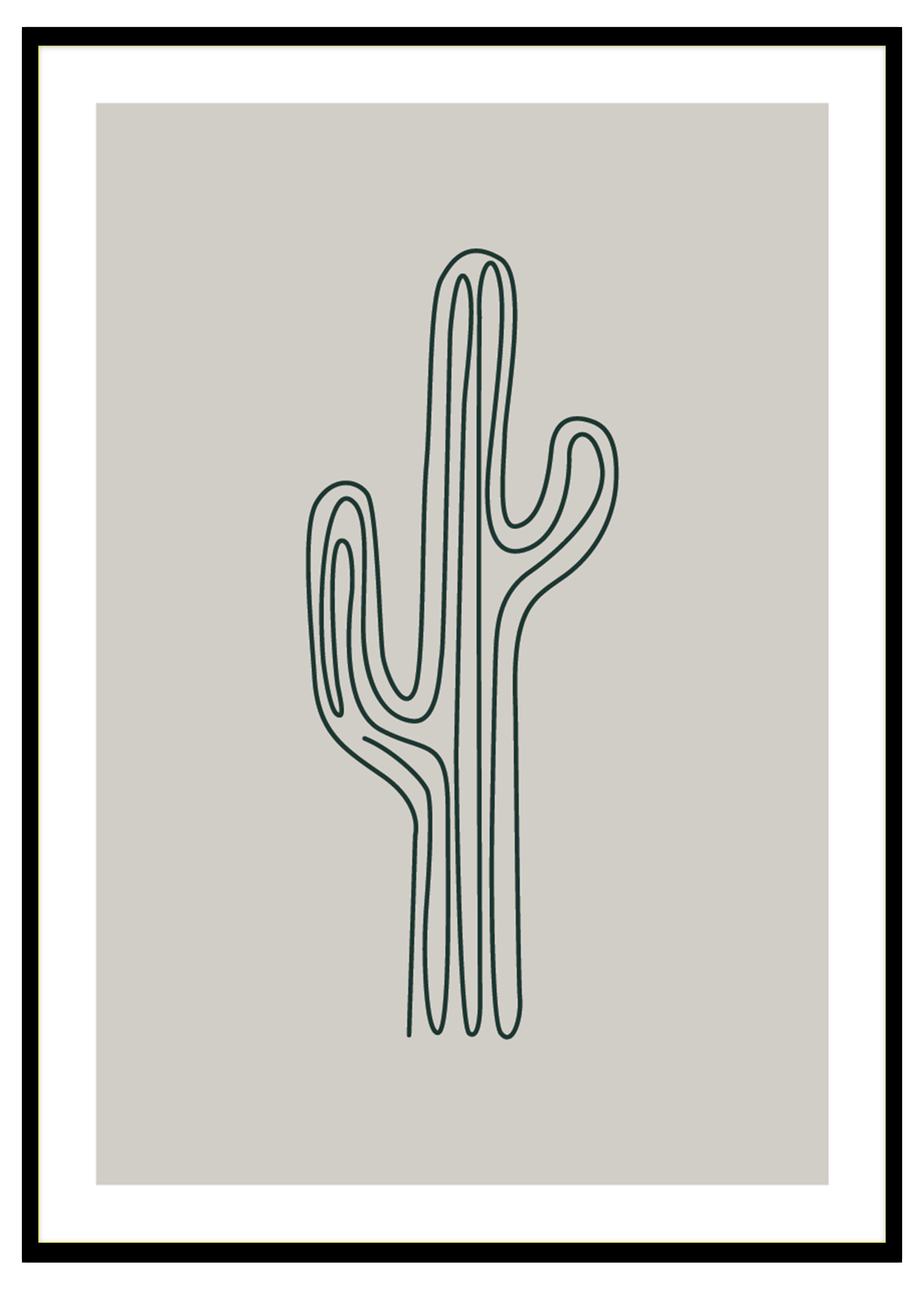 Lineart Cactus