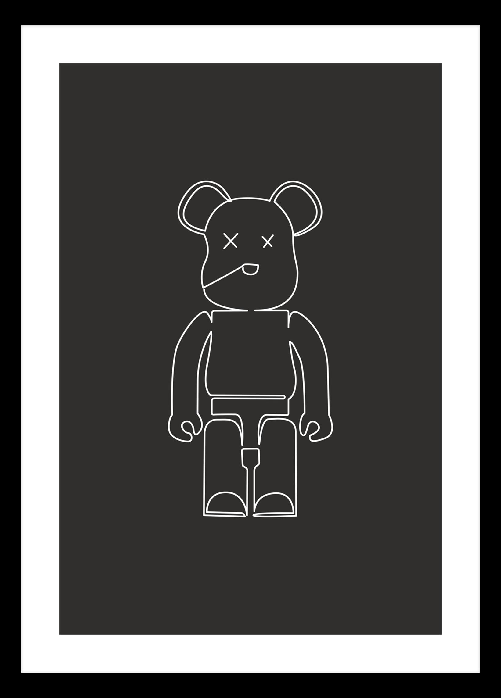 Brick Bear Dark