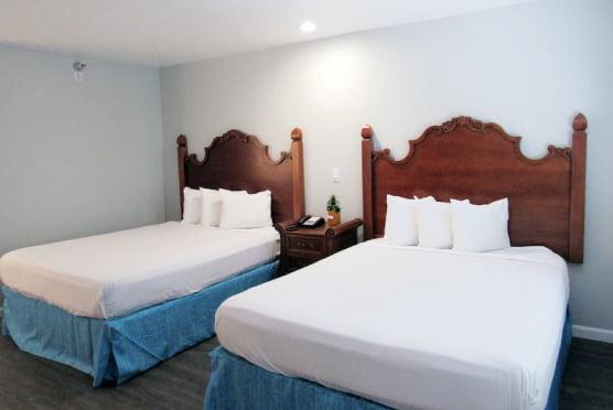 2 queen bedrooms in a 3 queen suite