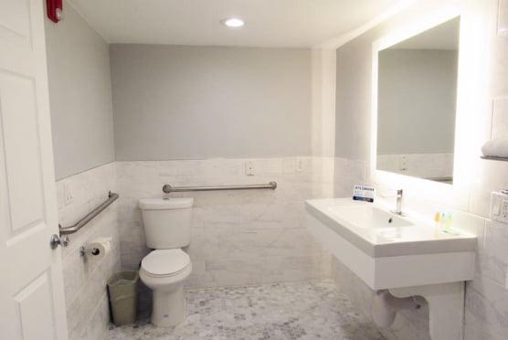 King Studio ADA Bathroom
