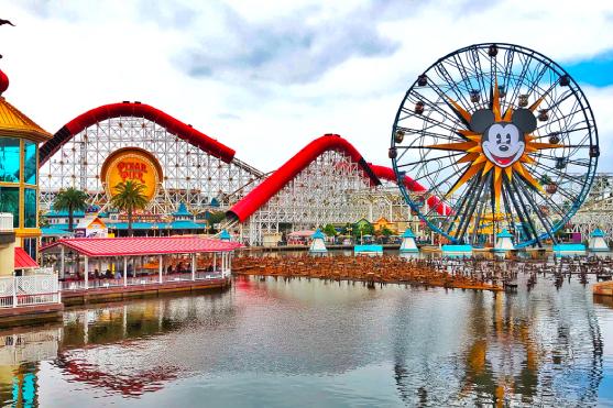 Disney California Adventure® Park Pixar Pier