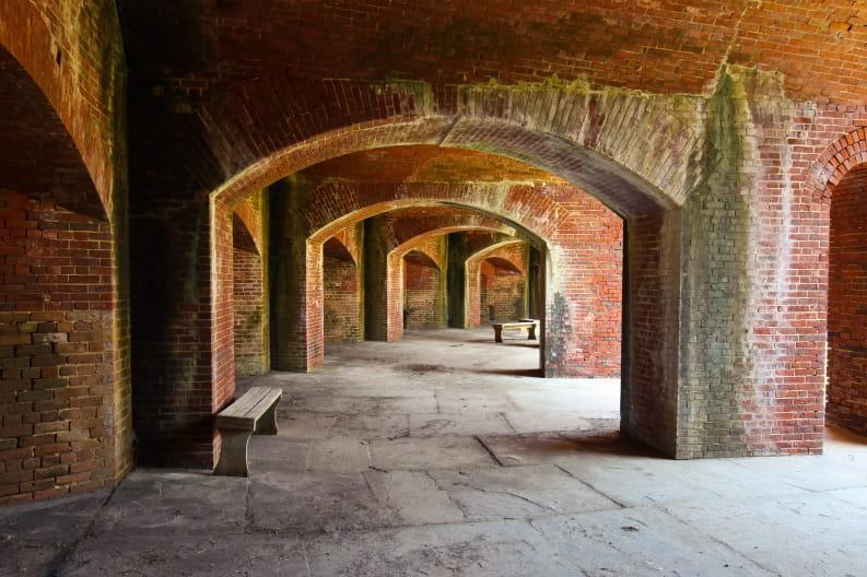 Inside Fort Massachusetts