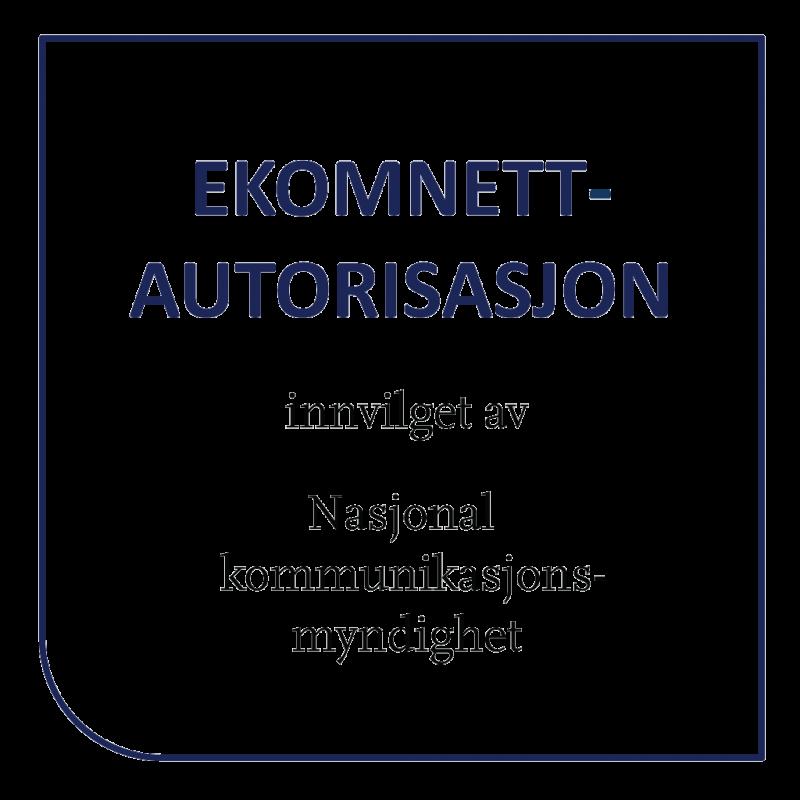 Ekomnett-autorisasjon logo