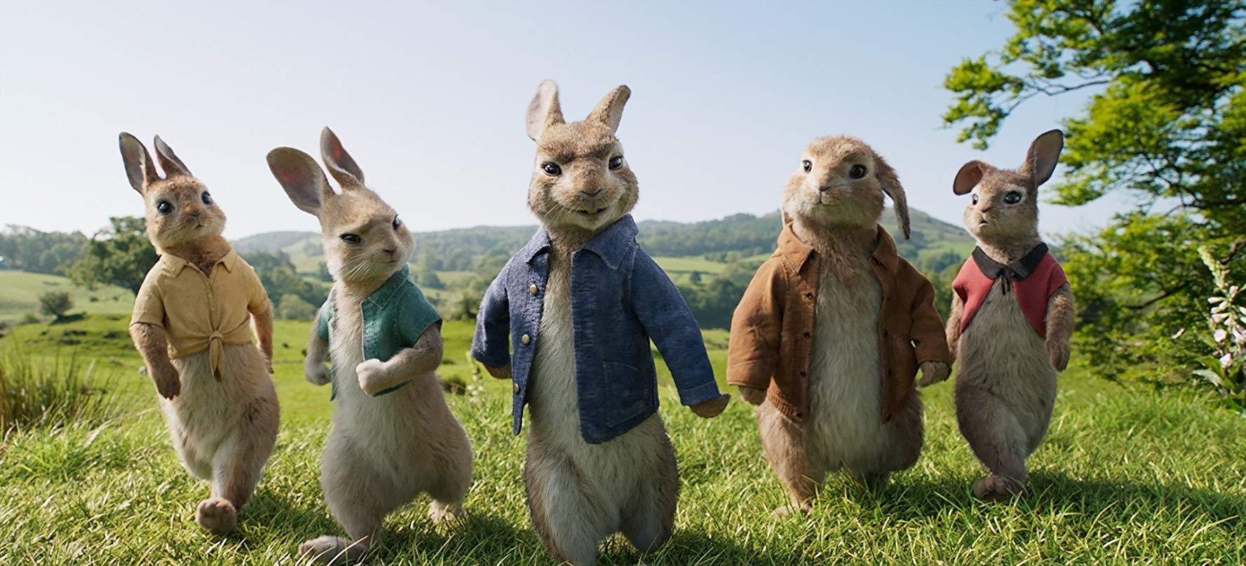 Columbia Pictures— Peter Rabbit
