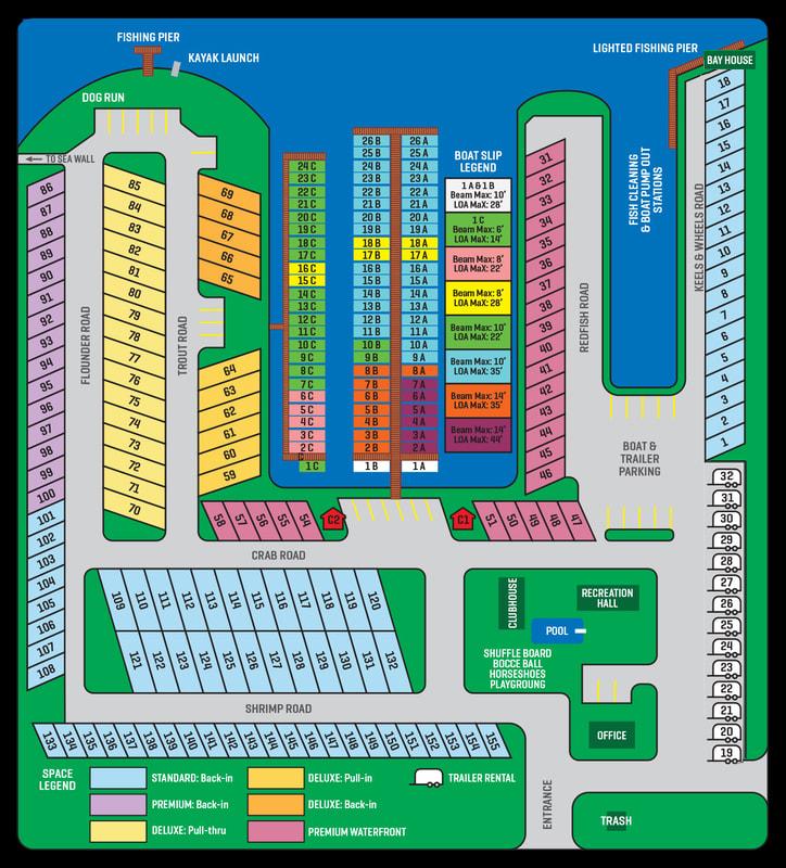 Sitemap RV Park New Braunfels