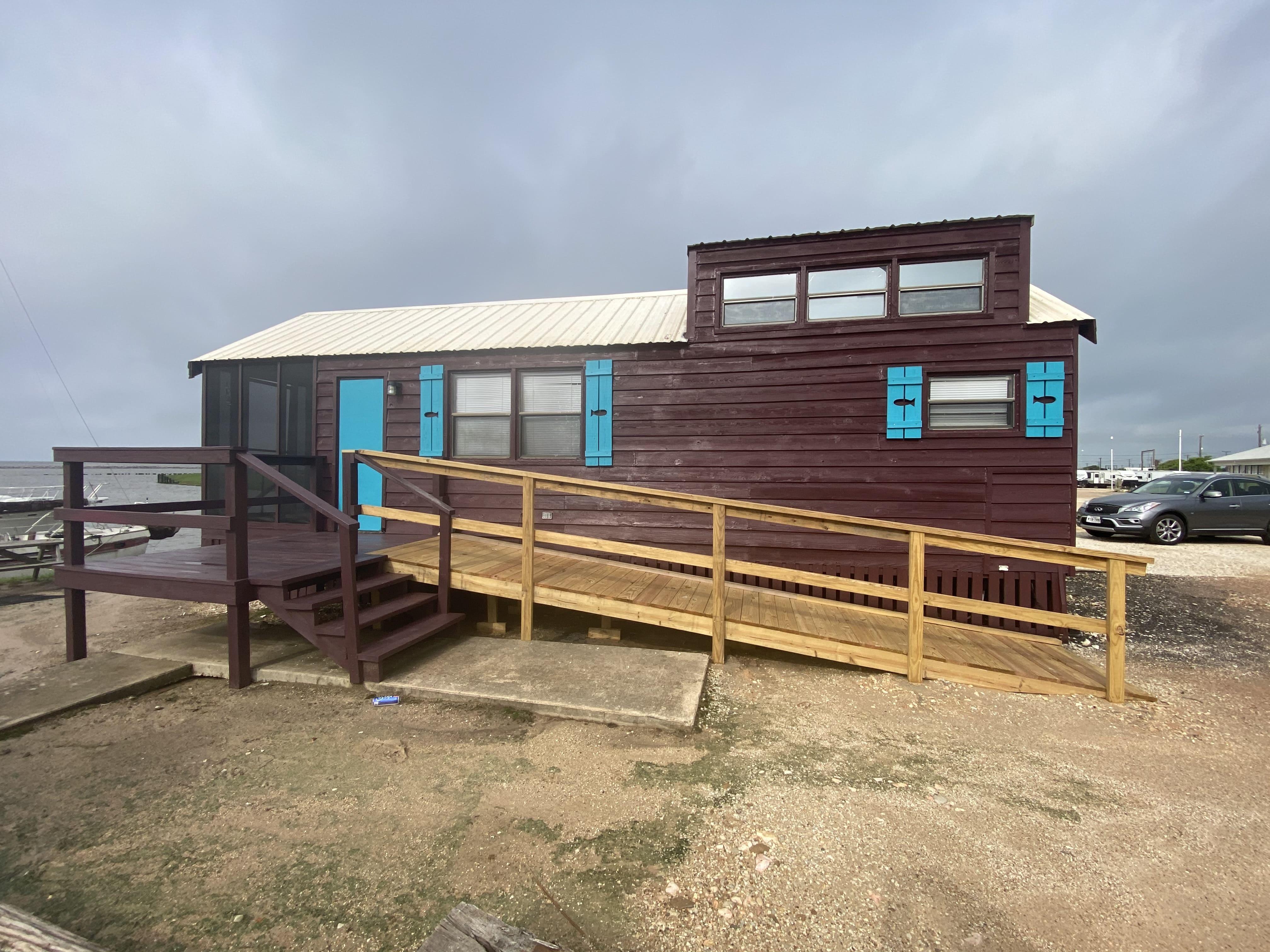 Cabin Beach House Rental New Braunfels