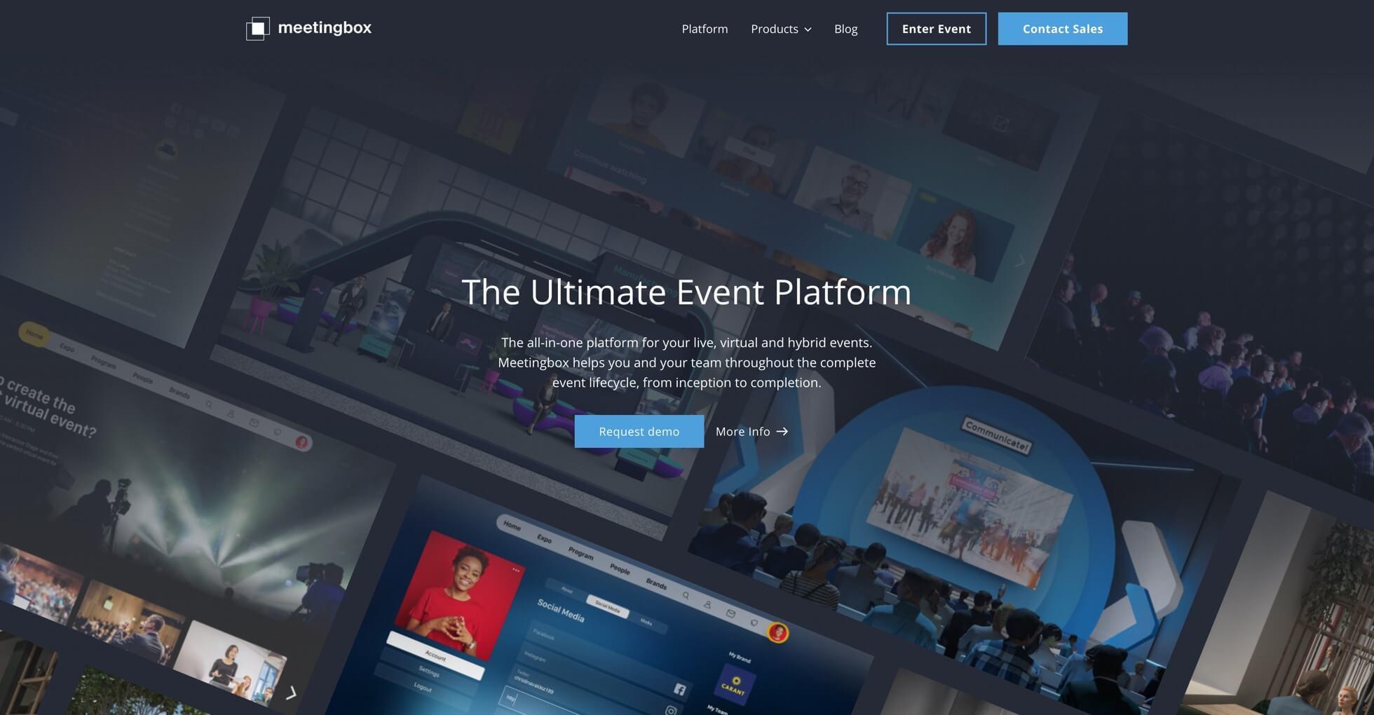 Screenshot meetingbox.com | Moritz Petersen Webflow Experte