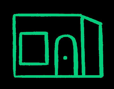 Immeuble représentant un investissement en nue propriété