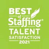 best of staffing talent award