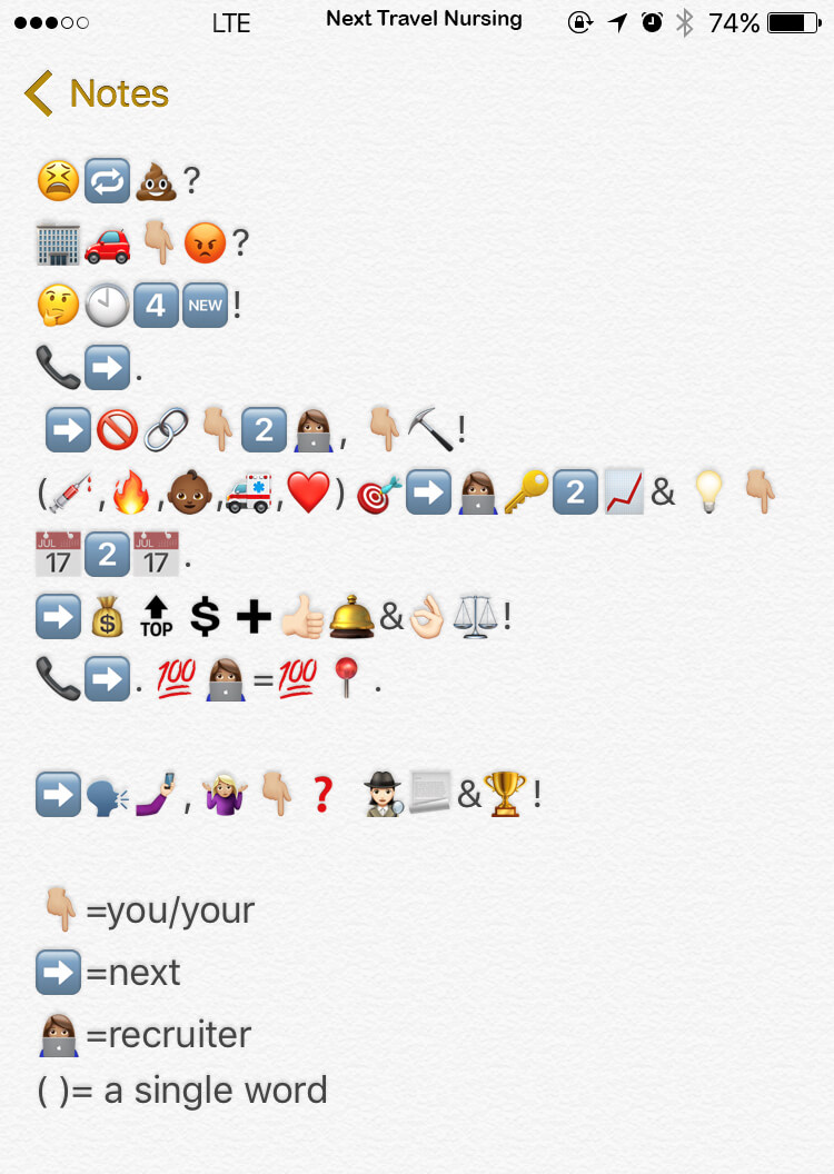 emoji messages