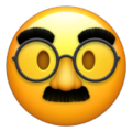  Disguised Face Emoji