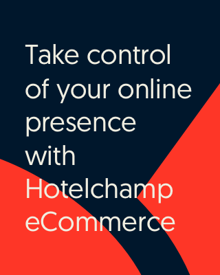 Take control of your online presence with Hotelchamp eCommerce