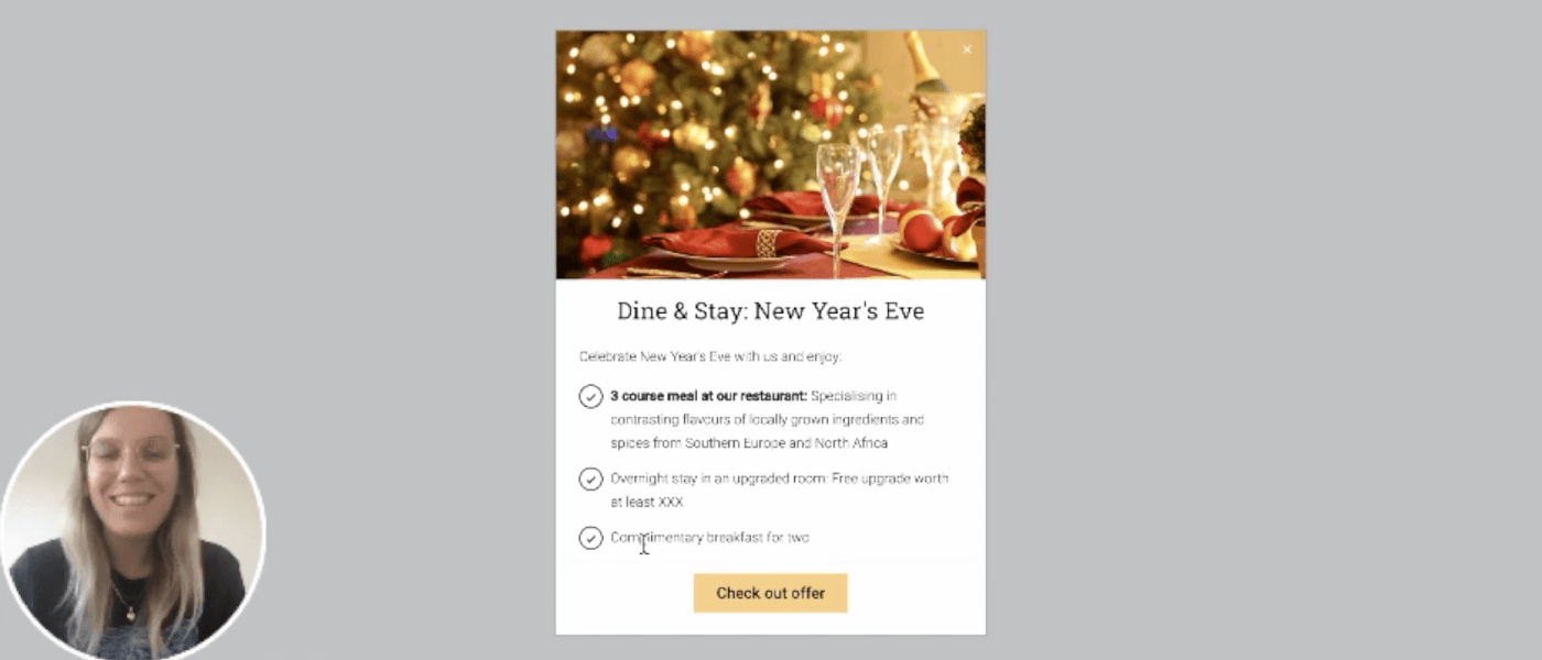 Creating a festive campaign to maximise hotel revenue in 2020