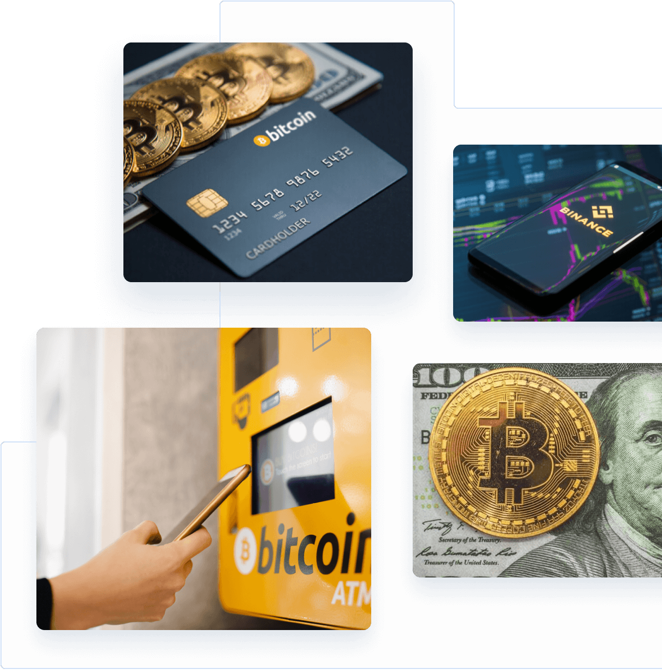 Crypto business banner