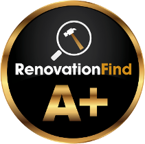A+ rating on RenovationFind