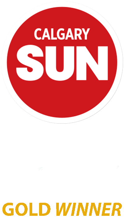 The Gutter Doctor is a Gold Winner for the Calgary Sun Readers Choice Award