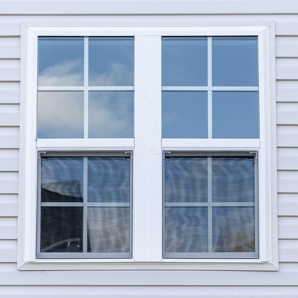 Cladded window