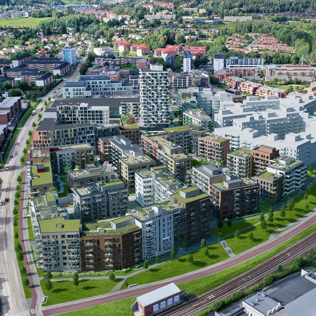 Vollebekk – Leveranse til boligprosjekt for OBOS