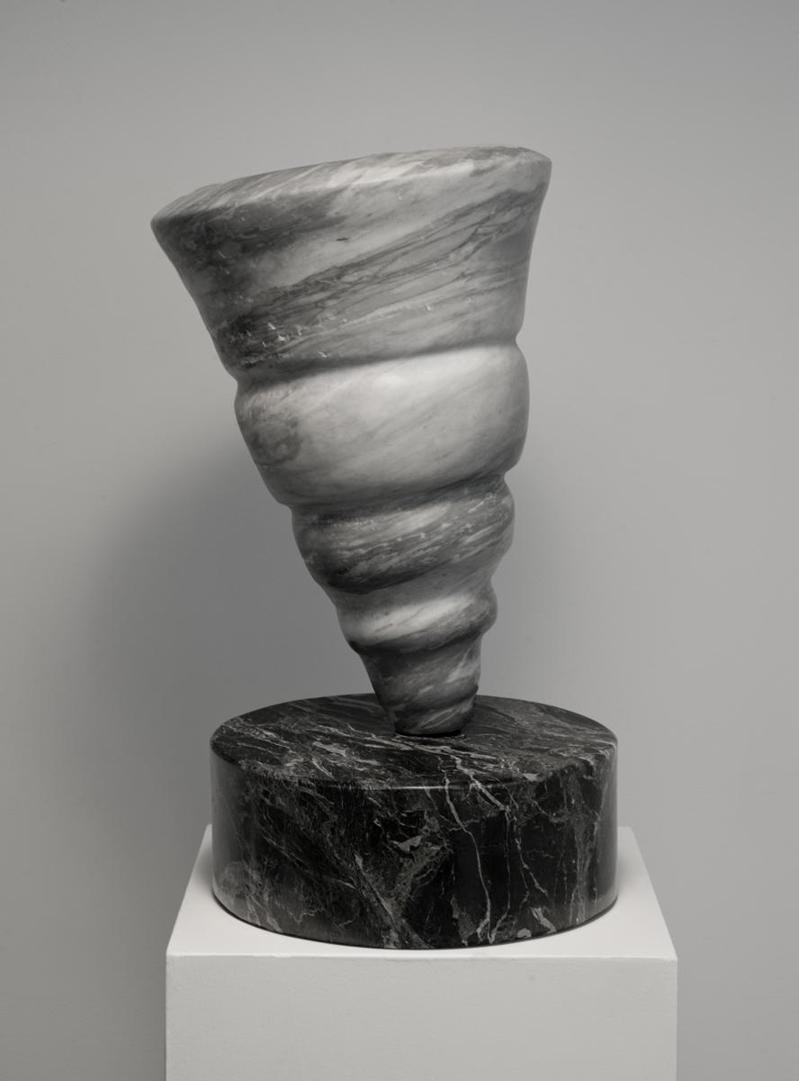 Bardiglio Marble on Serpentine base