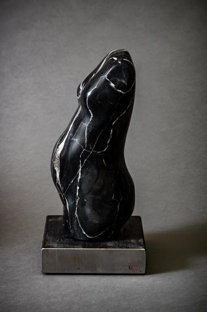 Portoro Marble on steel base