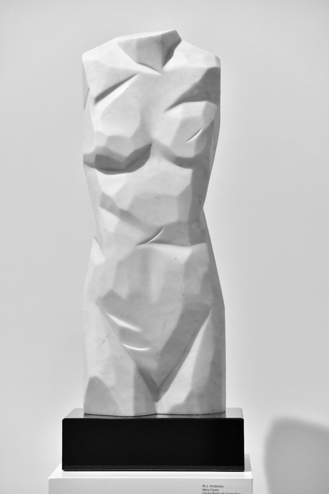 Statuario Marble on Granite Base