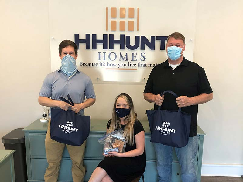 HHHunt Homes Helps March For Meals
