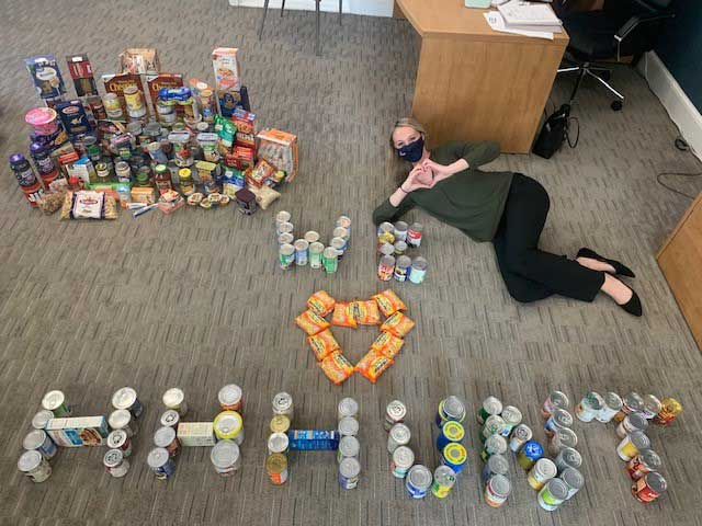 HHHunt Food Drive Supports Local Food Banks
