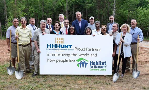 HHHunt Partners with Habitat for Humanity of Goochland County