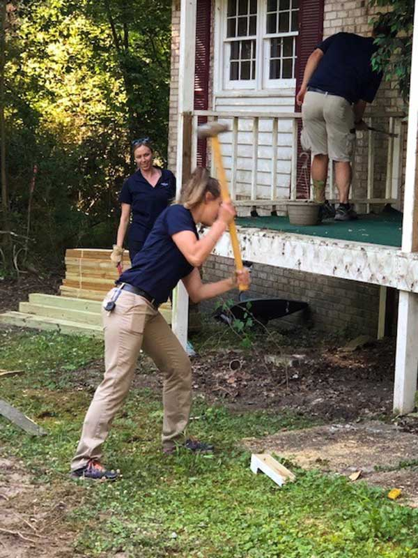 HHHunt Homes of Raleigh Lends Helping Hands