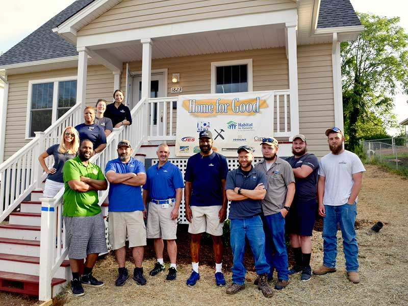 HHHunt Participates in Habitat for Humanity's Home for Good Program