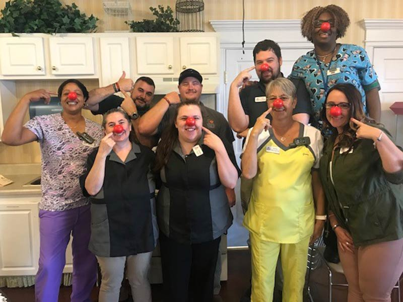 HHHunt Supports Red Nose Day
