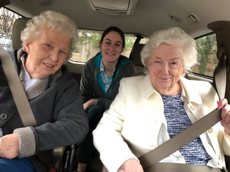 Spring Arbor of Greensboro is Delivering Meals on Wheels