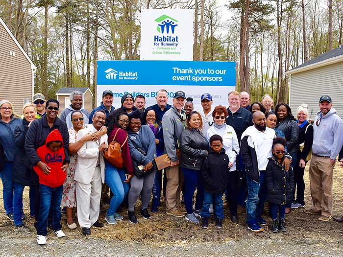 Living Our Vision Through Habitat for Humanity