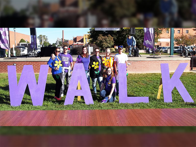 Spring Arbor is Walking to End Alzheimer's