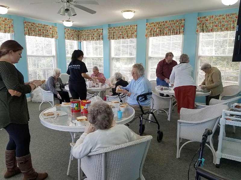 Feeding the Homeless in Greenville, North Carolina