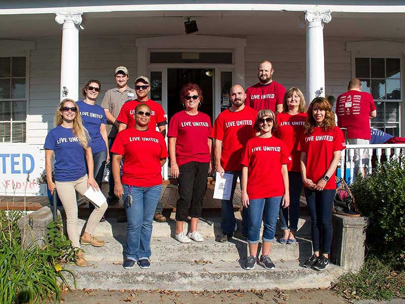 HHHunt Participates in United Way's Day of Caring