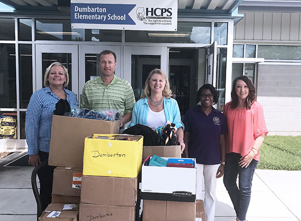 HHHunt Provides Supplies to Henrico County Elementary School