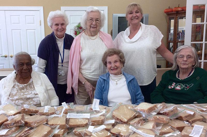 HHHunt's Senior Living Feeding Richmond's Homeless