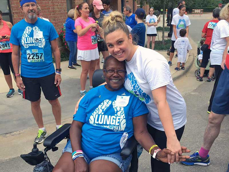 HHHunt participates in the Raleigh LUNGe Forward 5k Run, Walk and Rally