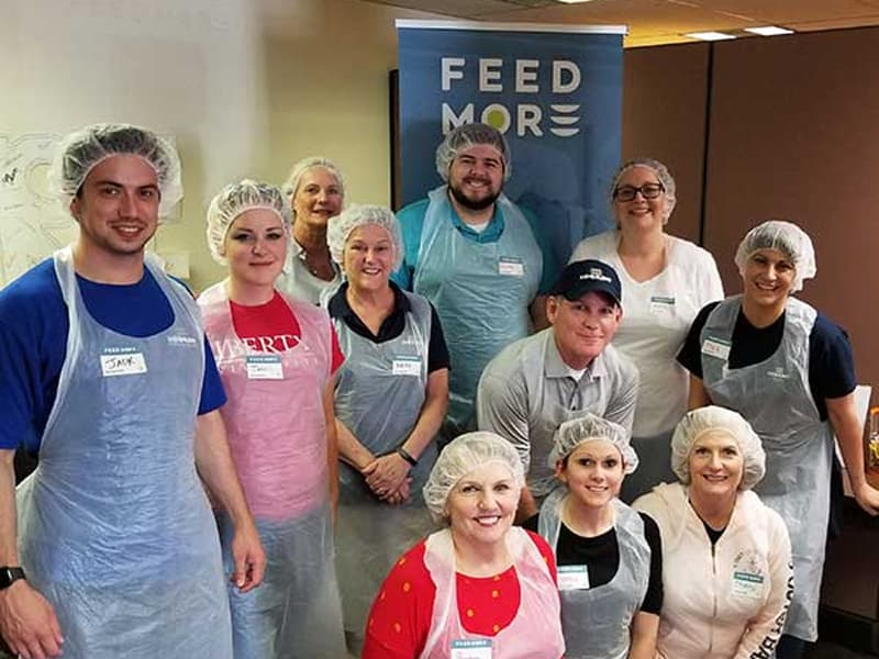 Richmond Accounting Team Volunteers at Feed More