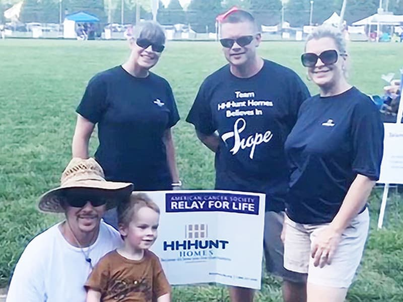 HHHHunt Homes Supports Relay for Life