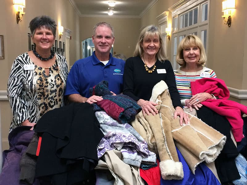 Spring Arbor of Salisbury Collects Coats for Kids