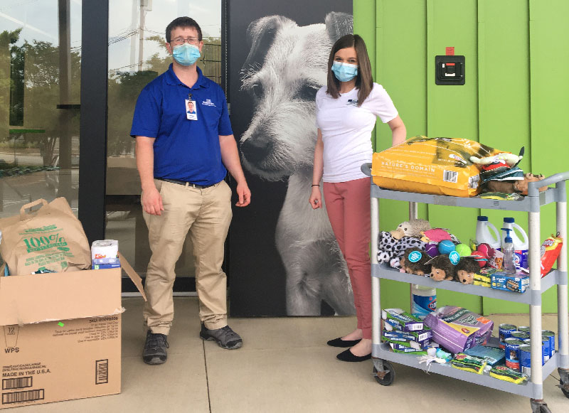Abberly Market Point Supports Greenville Humane Society
